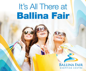 Ballina Fair Shopping Centre Advertisement
