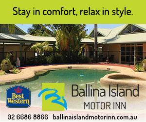 Ballina Island Motor Inn Accommodation