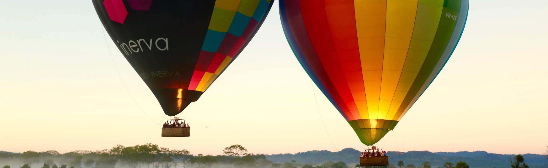 Unique Experiences Byron Bay Ballooning 1920x590