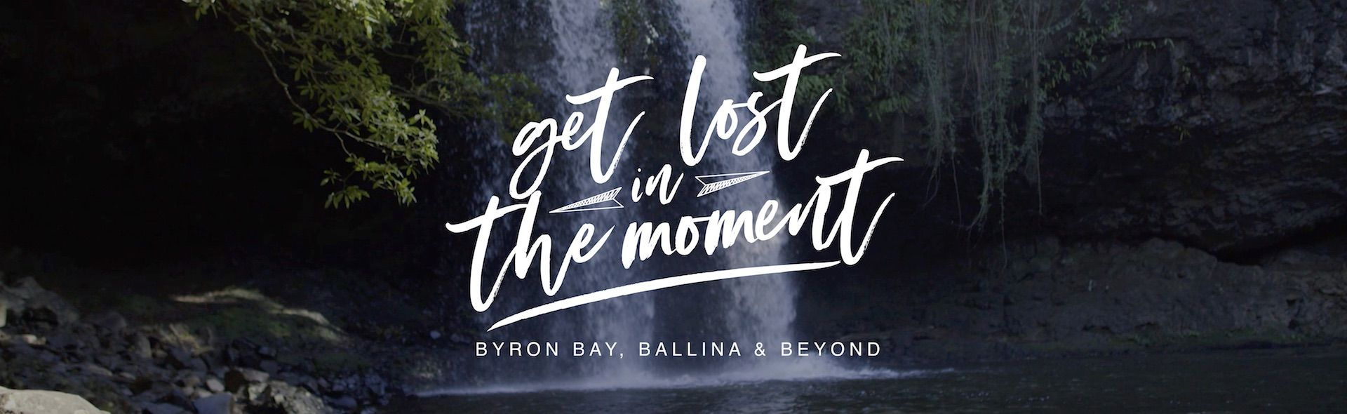 Get lost in the moment banner