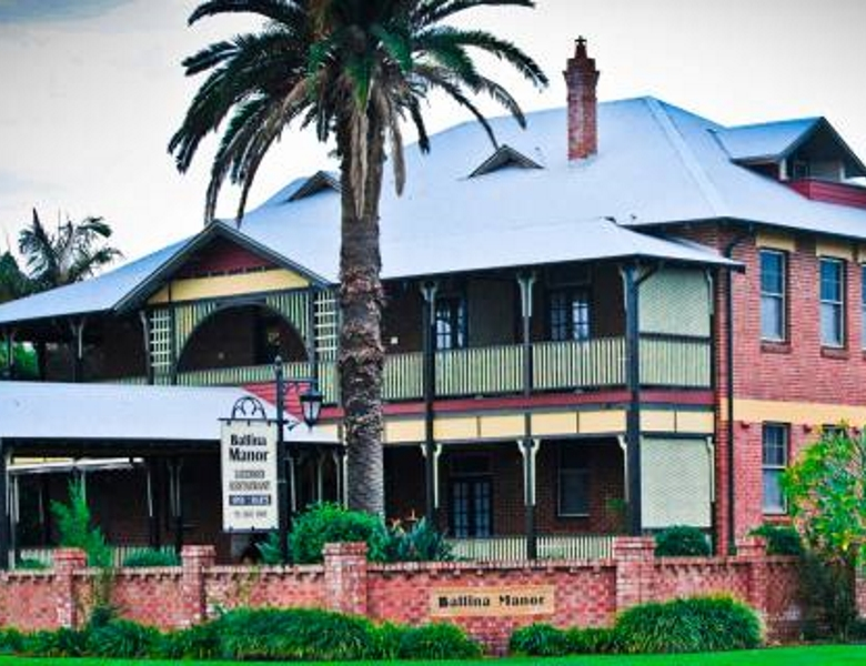Ballina Manor Boutique Hotel named finalist