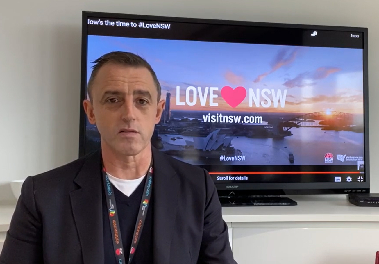 Destination NSW CEO Steve Cox