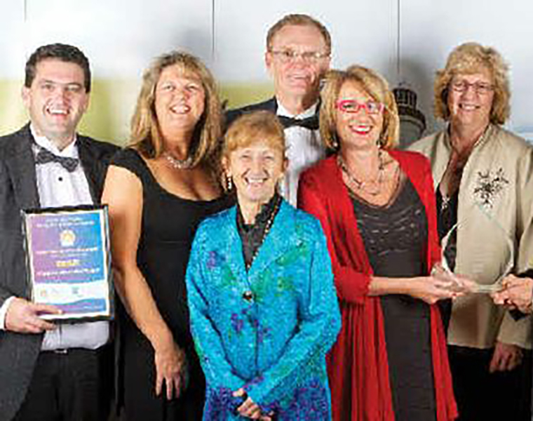 Award winners at the Tourism Awards