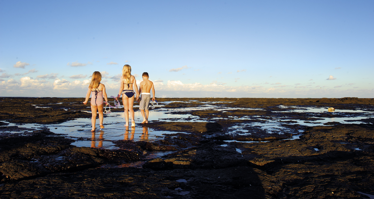 Banner kids at rockpools3