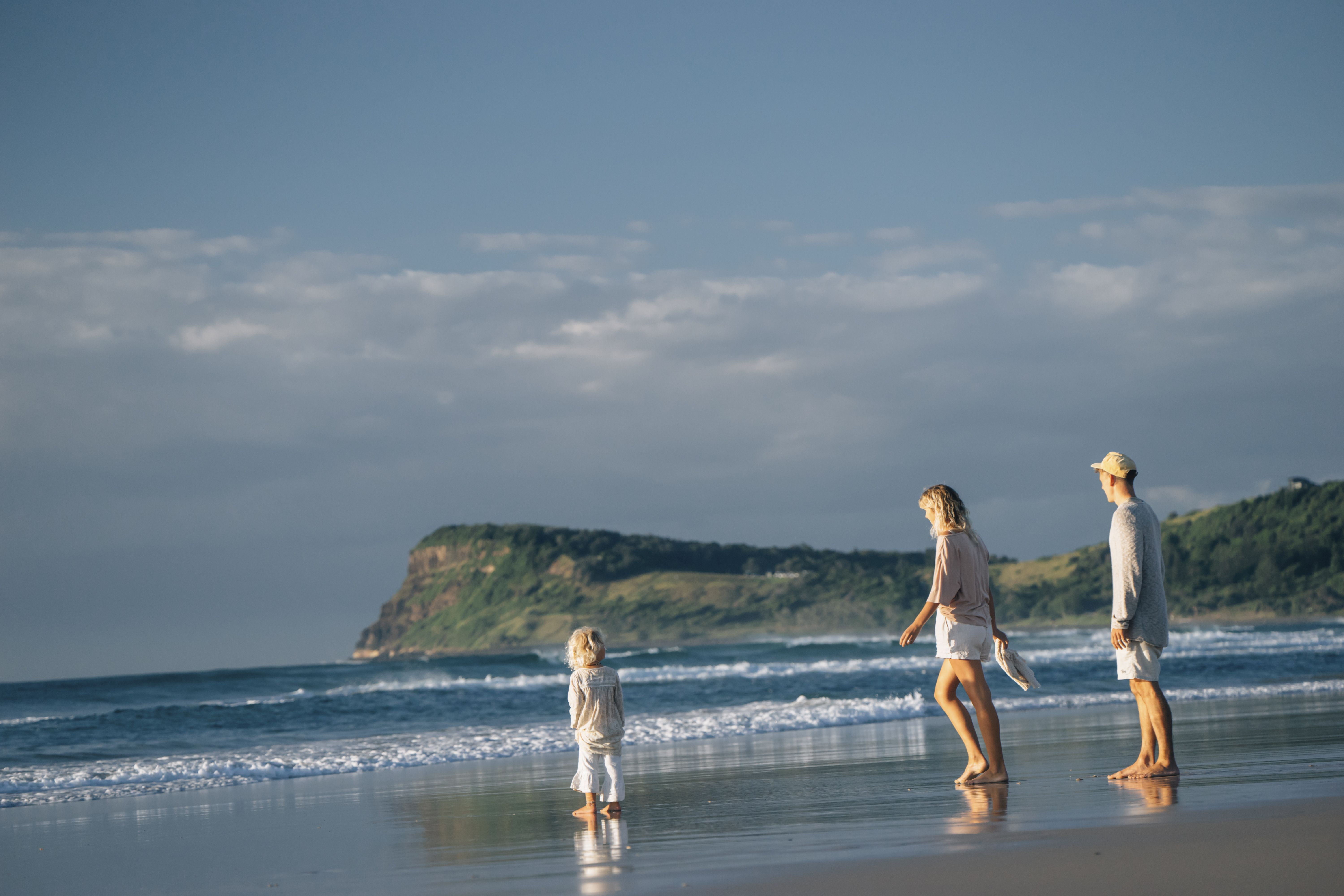 Family Seven Mile Beach Lennox Head PC: Destination North Coast