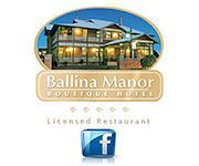 Ballina Manor Advertisement