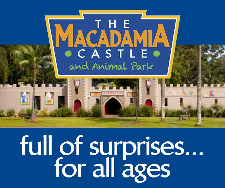 The Macadamia Castle Advertisement