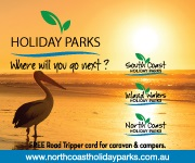 North Coast Holiday Parks Advertisement