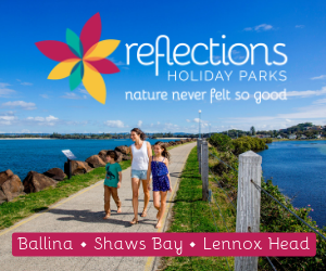 Reflections Holiday Parks Web Ad