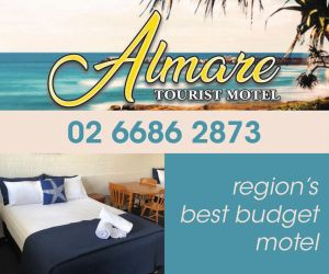 Almare Motel Advertisement
