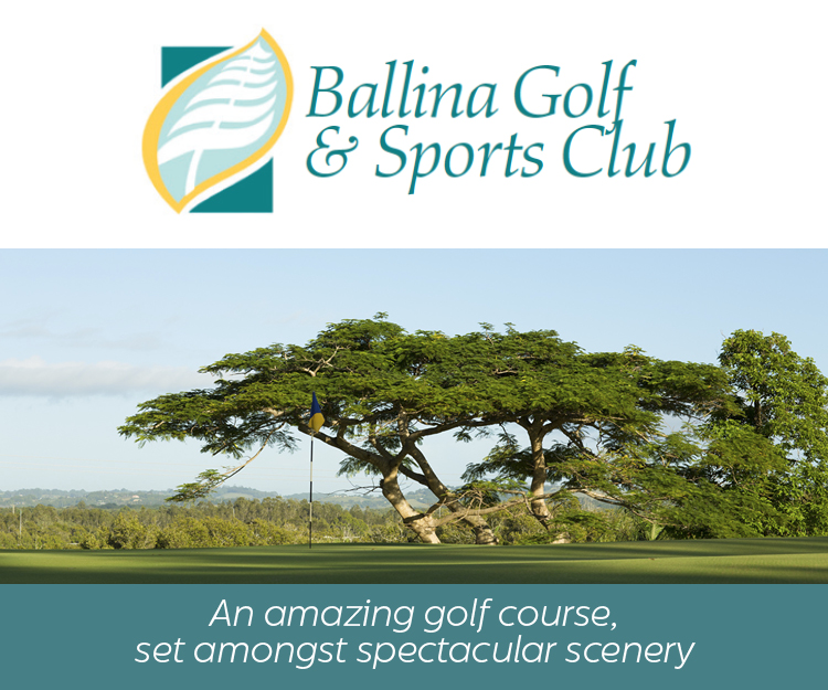 Ballina Golf and Sports Club Advertisement