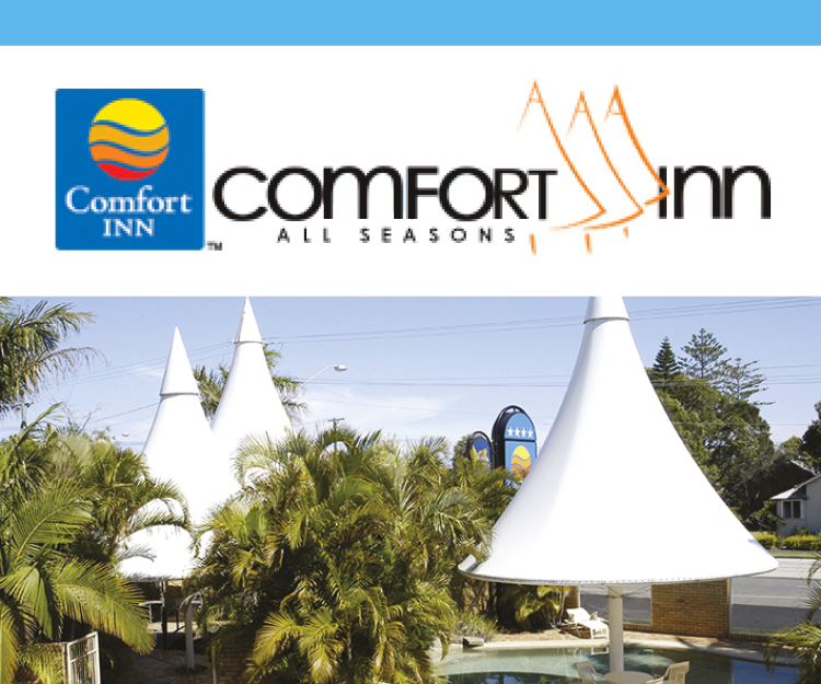 Comfort Inn All Seasons Advertisement