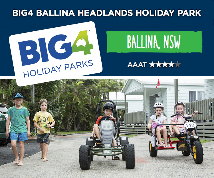 BIG4 Ballina Headlands Advertisement