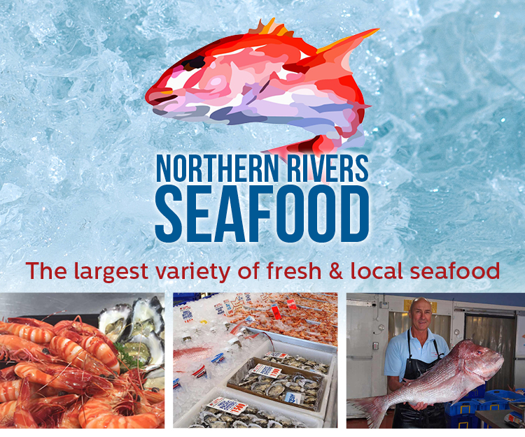 Northern Rivers Seafood Advertisement