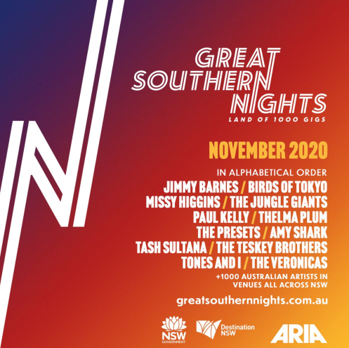 Great Southern Nights Music Event