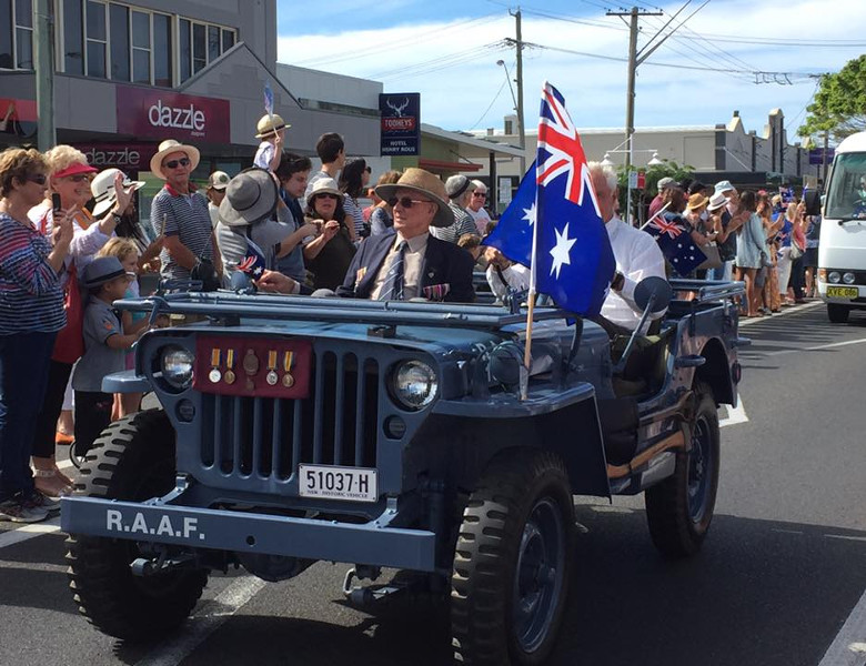 Past Anzac Day in Ballina