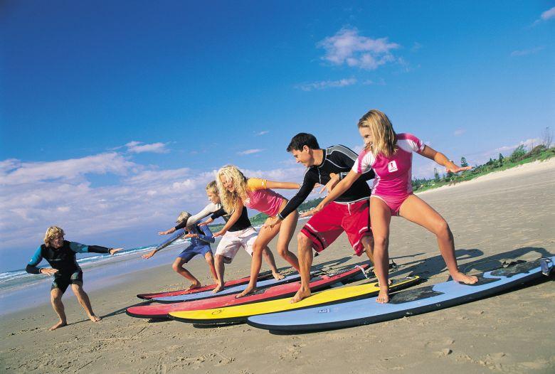 Kool Katz Learn To Surf