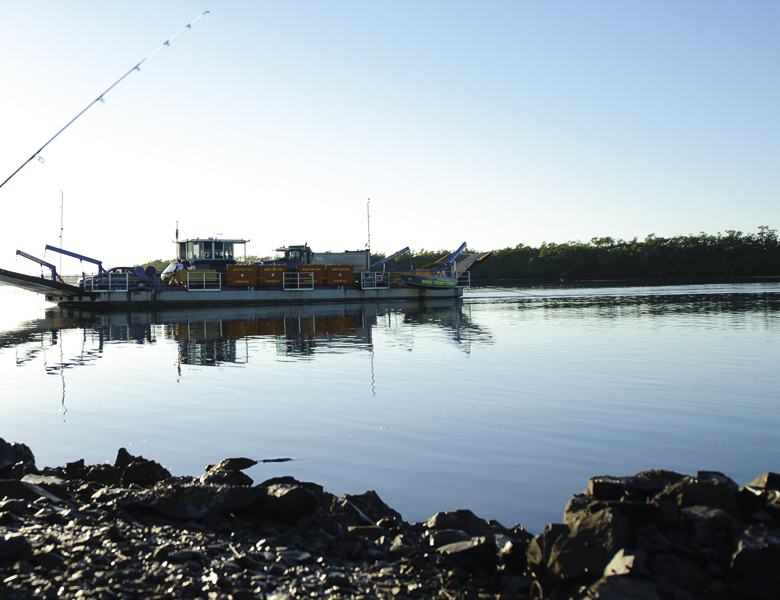 Burns Point Vehicle Ferry
