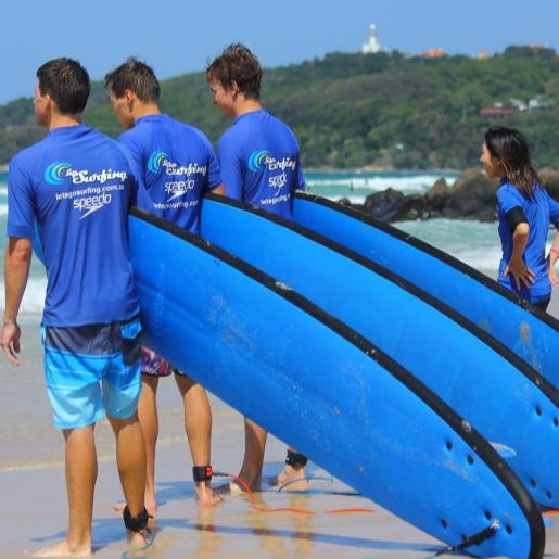Lets Go Surfing - Group Tours